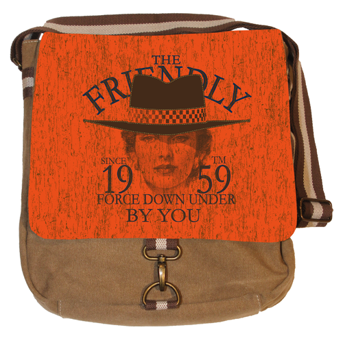 Vintage Canvas Messenger Tasche - The Friendly
